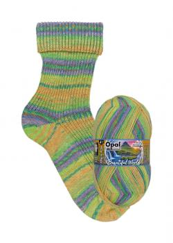 Opal 4-fach Beautyful World - Fb. 9742 Wasserspiel